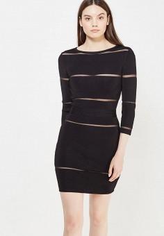 Платье, Love Republic, цвет: черный. Артикул: LO022EWUTA91. Женская одежда / Платья и сарафаны / Летние платья