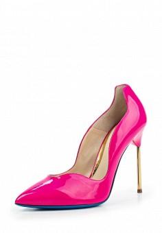 Туфли, Loriblu, цвет: фуксия. Артикул: LO137AWOZG04. Премиум / Обувь / Туфли