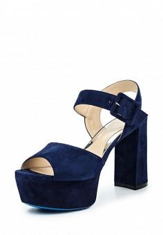 Босоножки, Loriblu, цвет: синий. Артикул: LO137AWOZI40. Премиум / Обувь / Босоножки