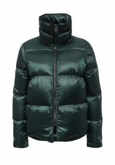 Пуховик, Mango, цвет: зеленый. Артикул: MA002EWKWF06. Женская одежда / Верхняя одежда / Пуховики и зимние куртки