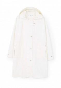 Парка, Mango, цвет: белый. Артикул: MA002EWRSI12. Женская одежда / Верхняя одежда / Парки