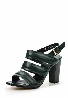 Босоножки, Makfine, цвет: зеленый. Артикул: MA043AWSJC26. Женская обувь / Босоножки