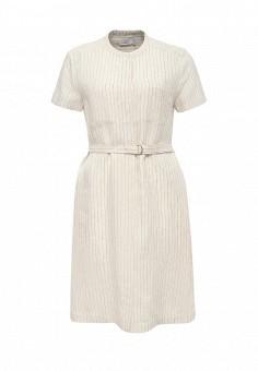 Платье, Max&Co, цвет: бежевый. Артикул: MA111EWOLT21. Премиум / Одежда / Платья и сарафаны