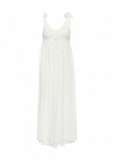 Платье, Max&Co, цвет: белый. Артикул: MA111EWOLU45. Премиум / Одежда / Платья и сарафаны