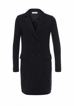 Пальто, Max&Co, цвет: синий. Артикул: MA111EWOMK54. Премиум / Одежда / Верхняя одежда / Пальто