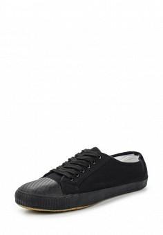 Кеды, Malvern, цвет: черный. Артикул: MA121AMSYS33. Мужская обувь / Кроссовки и кеды
