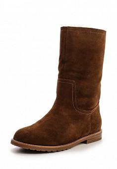 Сапоги, Milana, цвет: коричневый. Артикул: MI840AWNXM31. Женская обувь / Сапоги