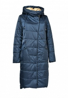 Куртка утепленная, Grafinia, цвет: синий. Артикул: MP002XW0DI0H. Женская одежда / Верхняя одежда / Пуховики и зимние куртки