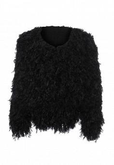 Шуба, Seanna, цвет: черный. Артикул: MP002XW0E21I. Женская одежда / Верхняя одежда / Шубы и дубленки