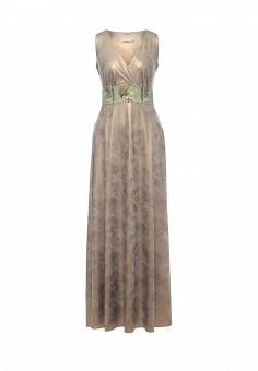 Платье, Michal Nergin, цвет: золотой. Артикул: MP002XW1GIXC. Женская одежда / Платья и сарафаны / Вечерние платья