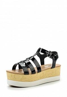 Босоножки, MTNG, цвет: черный. Артикул: MT001AWSAY25. Женская обувь / Босоножки