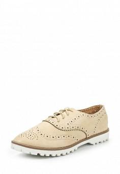 Ботинки, My&My, цвет: бежевый. Артикул: MY005AWSEU15. Женская обувь / Ботинки / Низкие ботинки