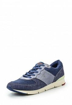 Кроссовки, Napapijri, цвет: синий. Артикул: NA154AWSNG60. Женская обувь / Кроссовки и кеды / Кроссовки