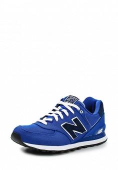 Кроссовки, New Balance, цвет: синий. Артикул: NE007AMDWX38. Мужская обувь