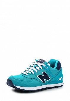 Кроссовки, New Balance, цвет: бирюзовый. Артикул: NE007AWDWY24. Женская обувь / Кроссовки и кеды / Кроссовки