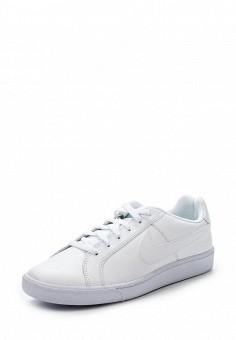Кеды, Nike, цвет: белый. Артикул: NI464AMHBR23. Мужская обувь / Кроссовки и кеды