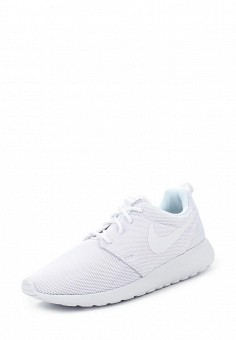 Кроссовки, Nike, цвет: белый. Артикул: NI464AWJFI65. Женская обувь / Кроссовки и кеды / Кроссовки