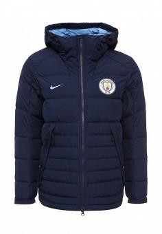 Пуховик, Nike, цвет: синий. Артикул: NI464EMJFU61. Мужская одежда / Верхняя одежда / Пуховики и зимние куртки