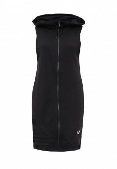 Жилет спортивный, Nike, цвет: черный. Артикул: NI464EWPKS22. Женская одежда / Верхняя одежда / Жилеты