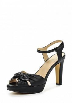 Босоножки, Obsel, цвет: черный. Артикул: OB005AWQEJ89. Женская обувь / Босоножки