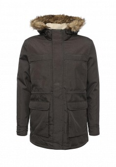 Парка, Only & Sons, цвет: серый. Артикул: ON013EMJSE35. Мужская одежда / Верхняя одежда / Парки