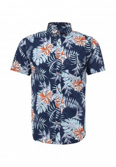 Рубашка, Only & Sons, цвет: синий. Артикул: ON013EMRNS03. Мужская одежда / Рубашки