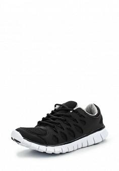 Кроссовки, oodji, цвет: черный. Артикул: OO001AWLOJ39. Женская обувь / Кроссовки и кеды / Кроссовки