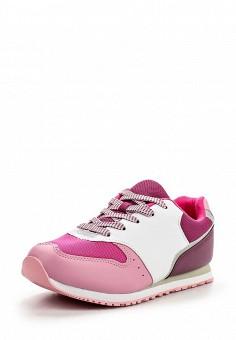 Кроссовки, oodji, цвет: мультиколор. Артикул: OO001AWMVK27. Женская обувь / Кроссовки и кеды / Кроссовки