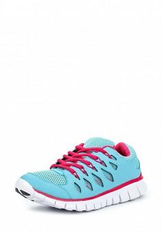 Кроссовки, oodji, цвет: бирюзовый. Артикул: OO001AWQRW31. Женская обувь / Кроссовки и кеды / Кроссовки