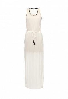 Платье, Patrizia Pepe, цвет: бежевый. Артикул: PA748EWPTN11. Премиум / Одежда / Платья и сарафаны
