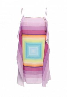 Платье, Patrizia Pepe, цвет: мультиколор. Артикул: PA748EWPTN17. Премиум / Одежда / Платья и сарафаны
