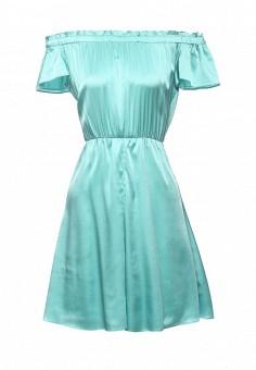 Платье, Patrizia Pepe, цвет: бирюзовый. Артикул: PA748EWPTN19. Премиум / Одежда / Платья и сарафаны