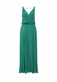 Платье, Patrizia Pepe, цвет: зеленый. Артикул: PA748EWPTQ43. Премиум / Одежда / Платья и сарафаны
