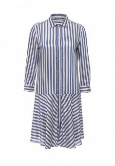 Платье, Pennyblack, цвет: синий. Артикул: PE003EWOHU85. Премиум / Одежда / Платья и сарафаны