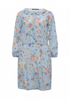 Платье, Pennyblack, цвет: голубой. Артикул: PE003EWOHU92. Премиум / Одежда / Платья и сарафаны