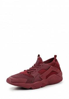 Кроссовки, Piazza Italia, цвет: бордовый. Артикул: PI022AMQJN35. Мужская обувь / Кроссовки и кеды / Кроссовки