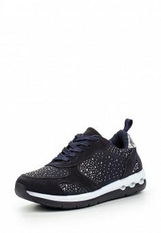 Кроссовки, Piazza Italia, цвет: синий. Артикул: PI022AWMRR92. Женская обувь / Кроссовки и кеды / Кроссовки