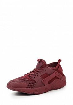 Кроссовки, Piazza Italia, цвет: бордовый. Артикул: PI022AWQJO31. Женская обувь / Кроссовки и кеды / Кроссовки