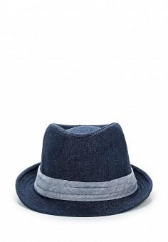 Шляпа, Piazza Italia, цвет: синий. Артикул: <u>полями</u> PI022CWSUE33. Женские аксессуары / Головные уборы / Шляпы