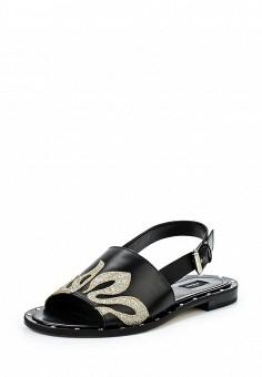 Сандалии, Pinko, цвет: черный. Артикул: PI754AWOIF33. Премиум / Обувь / Сандалии