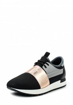 Кроссовки, Pollini, цвет: черный. Артикул: PO756AWSUP54. Премиум / Обувь / Кроссовки и кеды / Кроссовки