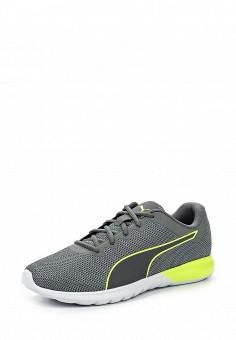 Кроссовки, Puma, цвет: серый. Артикул: PU053AUQOX54. Женская обувь / Кроссовки и кеды / Кроссовки