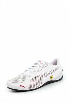 Кроссовки, Puma, цвет: белый. Артикул: PU053AUQOZ00. Женская обувь / Кроссовки и кеды / Кроссовки