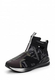 Кроссовки, Puma, цвет: черный. Артикул: PU053AWQOX04. Женская обувь / Кроссовки и кеды / Кроссовки
