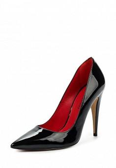Туфли, Pura Lopez, цвет: черный. Артикул: PU761AWQLR28. Премиум / Обувь / Туфли