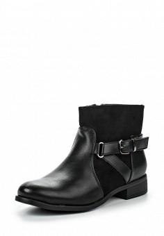 Ботинки, Queen Vivi, цвет: черный. Артикул: QU004AWNHY36. Женская обувь / Ботинки