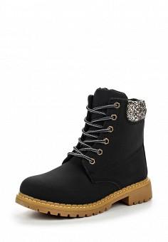 Ботинки, Queen Vivi, цвет: черный. Артикул: QU004AWNHY64. Женская обувь / Ботинки