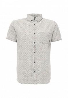 Рубашка, Quiksilver, цвет: серый. Артикул: QU192EMPVD84. Мужская одежда / Рубашки