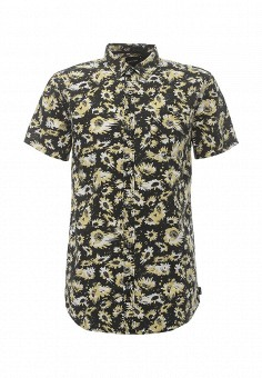Рубашка, Quiksilver, цвет: черный. Артикул: QU192EMPVD87. Мужская одежда / Рубашки