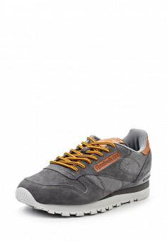 Кроссовки, Reebok Classics, цвет: серый. Артикул: RE005AUQJI45. Женская обувь / Кроссовки и кеды / Кроссовки